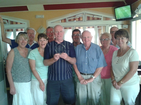 EEBC - winners of bowls/putting 2014