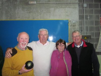 Short mat bowls - 20 February 2013 - The winners